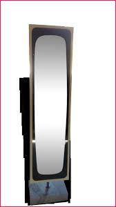 miroir de chambre sur pied miroir plein pied 194140 miroir sur pied en bois fabulous miroir de