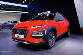 hyundai kona shows other crossovers how it u0027s done at iaa 2017