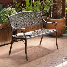 Antique Patio Chairs Amazon Com Best Selling Cozumel Cast Aluminum Bench Antique