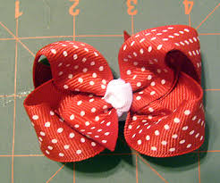 how to make a hair bow easy hair bow tutorial for beginners foto