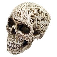 image result for skull ornaments muerte