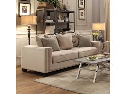 Sofa Back Table by Coaster Lyonesse Sofa With Loose Pillow Back Cushions Dunk