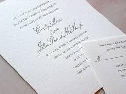 Post Wedding Invitations Emily Post Wedding Invitation Wording Stephenanuno Com