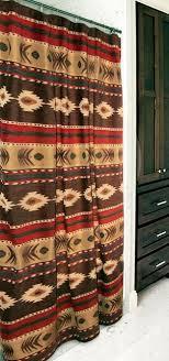 Western Bathroom Shower Curtains Desert Horizon Southwest Shower Curtain Recreational Vehicles