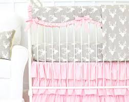 shabby chic rose ruffle baby bedding set vintage baby