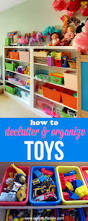 Toy Organizer Ideas How To Declutter And Organize Toys Overstuffed