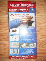 Floor Vent Covers by One Clever Magnetic Super Seal Vent Cover Heating Vents Amazon Com