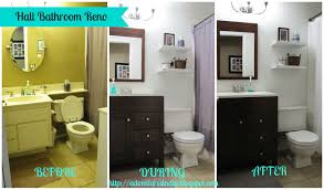 adventures in diy hall bathroom makeover the reveal