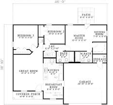 House Floor Plans 2000 Square Feet House Plan 17 2128 This 1214 Square Feet Traditional Style 3