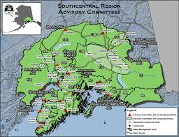 Tanana Alaska Map by Advisory Committee Information Alaska Department Of Fish And Game
