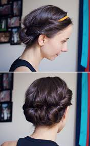 hot to do an upsweep on shoulder length hair 25 most beautiful easy updos