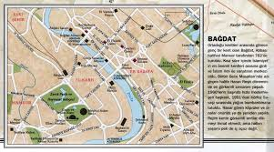 map of bagdad map of baghdad iraq maps in turkish