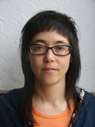 very short in back and very long in front hair long bang short hair hair style and color for woman