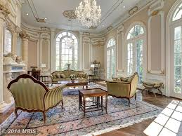 traditional living room with columns venetian style crystal 12