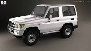 toyota land rover 1990 toyota land cruiser j71 3 door 2013 by 3d model store humster3d