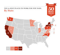 best states to work in the best tech companies for new dads to work paysa blog