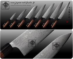 couteau de cuisine professionnel japonais couteaux japonais forges vg10