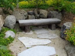 bench u s japanese gardens