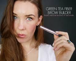 100 pure u0027s green tea fiber brow builder