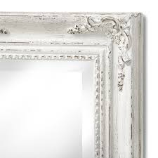 Narrow Wall Mirror Antique White Narrow Gilded Wall Mirror From Hill Interiors