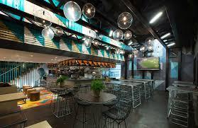 eclectic restaurant decorating amusing industrial chic cafe design