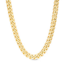 gold cuban necklace images Made in italy men 39 s 6 8mm cuban link chain necklace in 14k gold jpg