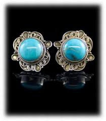turquoise studs turquoise stud earrings quality turquoise stud earrings by