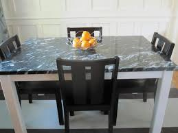 Homemade Dining Room Table Easy Diy Kitchen Table White Marble Countertop Simple Wooden