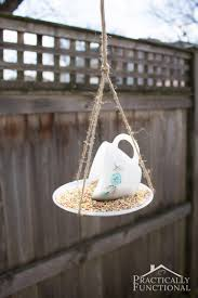 10 diy bird feeders that will fill your garden with songbirds