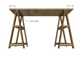Diy Desk Plans Free by 9 Best Desk Images On Pinterest Diy Desk Diy Sawhorse And Home
