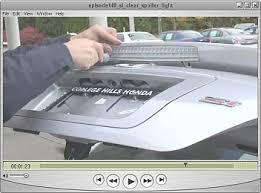 2008 honda civic third brake light diyhonda com video podcasts 2008