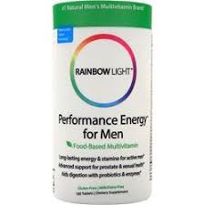 rainbow light men s one multivitamin review rainbow light performance energy multivitamin for men on sale at