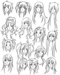 draw anime hair anime hair hair steps and anime