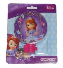 amazon com disney princess sofia first night light purple baby