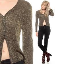 peekaboo blouse shop gold metallic blouse on wanelo
