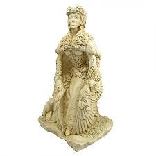 large freya statue norse goddess goddess of love 13 inches