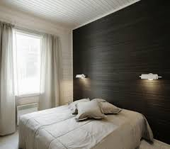 modern bedroom wallpaper one wall decoration trends black