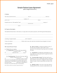 Terminate Lease Letter 8 Simple One Page Lease Agreement Template Ledger Paper