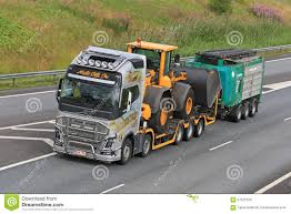 volvo heavy volvo fh hauls heavy equipment editorial stock image image 57522729
