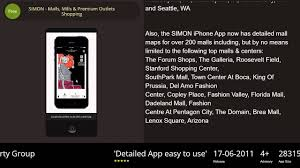 Arizona Mills Mall Map by Simon Malls Mills U0026 Premium Outlets Shopping Iphone U0026 Ipad