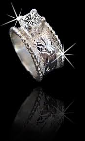 western wedding rings country western style wedding rings