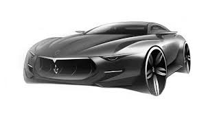 maserati concept cars maserati alfieri concept design sketch car sketches