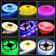 Ebay Led Lights 5m 300 Led Strip Light 3528 5050 Smd Rgb Ribbon Tape Roll