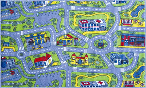 chic design play rugs for cars incredible ideas kids road rug