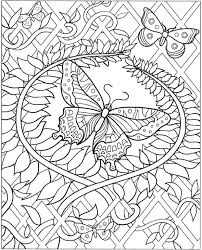 folk coloring pages mobile coloring complex butterfly coloring