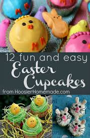 Simple Easter Decorations For Cupcakes by 25 Best Easter Cupcakes Ideas On Pinterest Easter Cake Easter