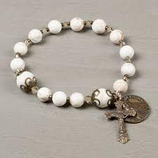 rosary bracelet fatima 100th anniversary rosary bracelet the catholic company