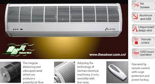 Air Curtains For Overhead Doors Wind Compact Air Curtains For Overhead Doors With Cross Flow