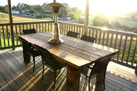 outdoor rectangular dining table rustic outdoor dining table outdoor plantation rustic piece patio