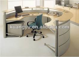 C Shaped Desk Half Reception Desk Reception Counter C Shape Reception Desk